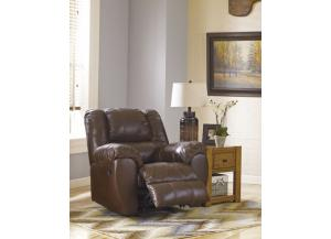 Rocker Recliner Genuine Leather and Match