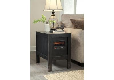 heater end table