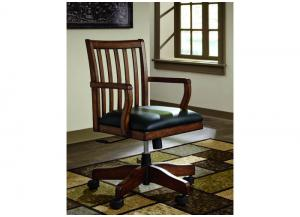 Oxford Solid Wood Swivel Desk Chair